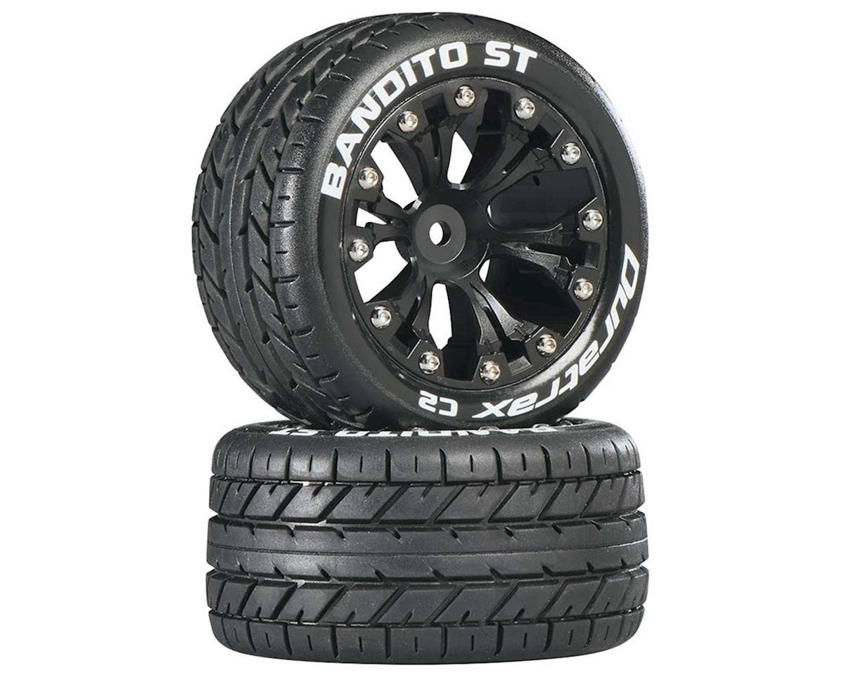 Duratrax Bandito St 2.8 2Wd Mounted Rear C2 Truck Tire - Black, x2