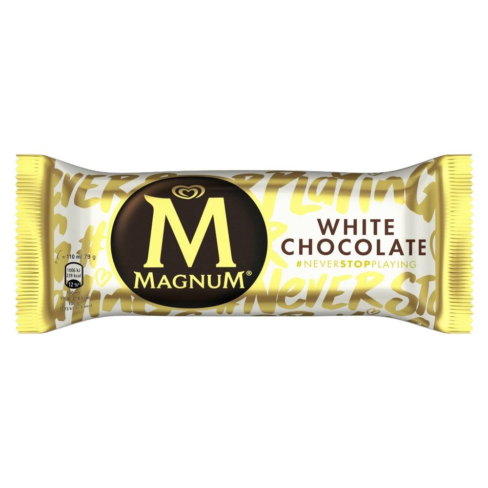 Magnum White Chocolate Ice Cream - 110ml