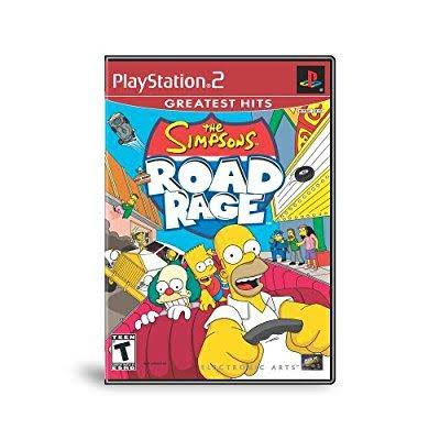 The Simpsons: Road Rage - PlayStation 2