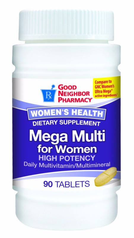 Good Neighbor Pharmacy Mega Multi for Women Multivitamin, 90 Tablets
