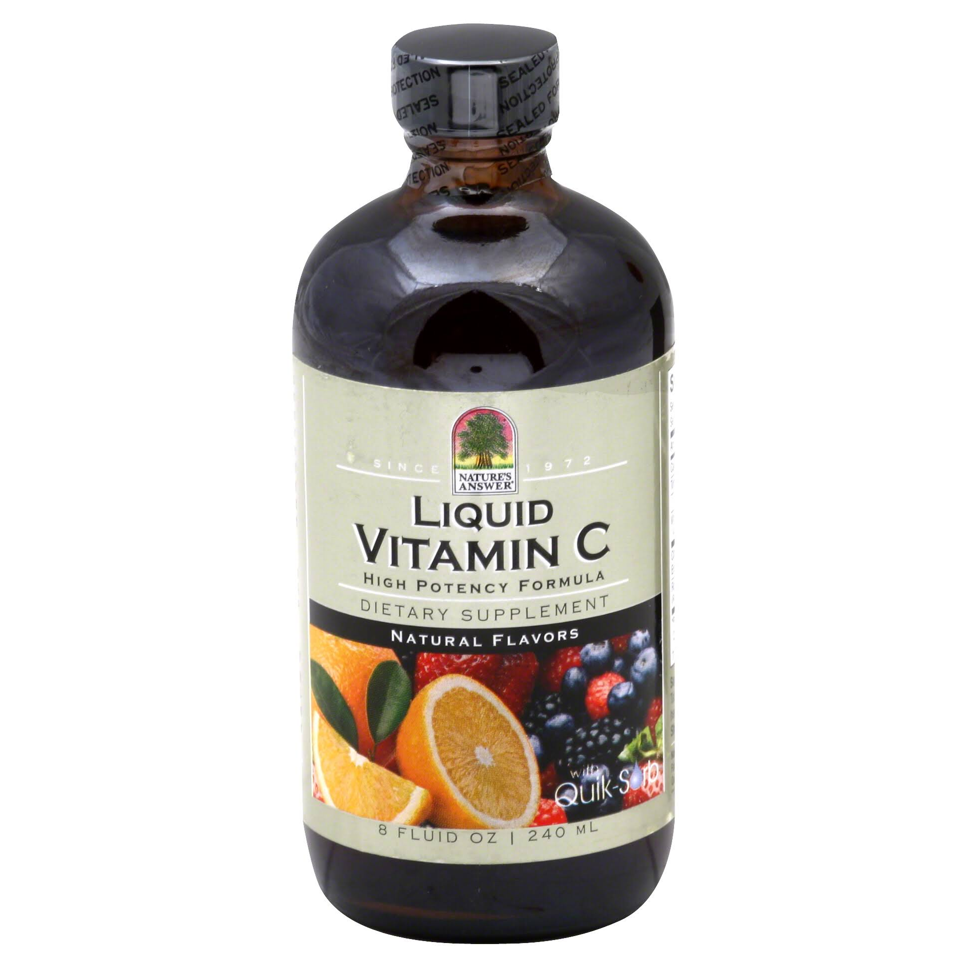 Nature's Answer Liquid Vitamin C Supplement - 8oz