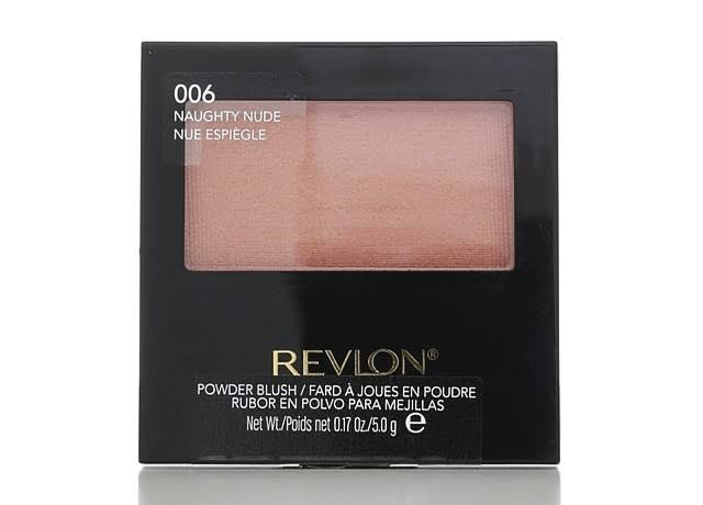 Revlon Powder Blush - 006 Naughty Nude, 0.17oz