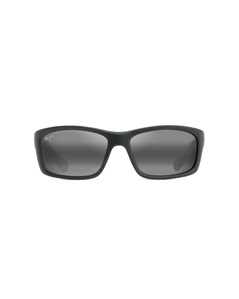 Maui Jim Kanaio Coast Sunglasses - Matte Black and Neutral Grey, 61mm