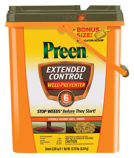 Preen Extended Control Weed Preventer - 13.75lbs