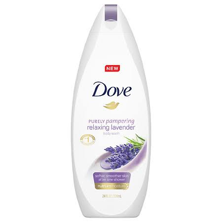 Dove Relaxing Body Wash - Relaxing Lavender, 22oz