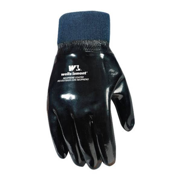 Wells Lamont Work Gloves - Neoprene Coated, One Size