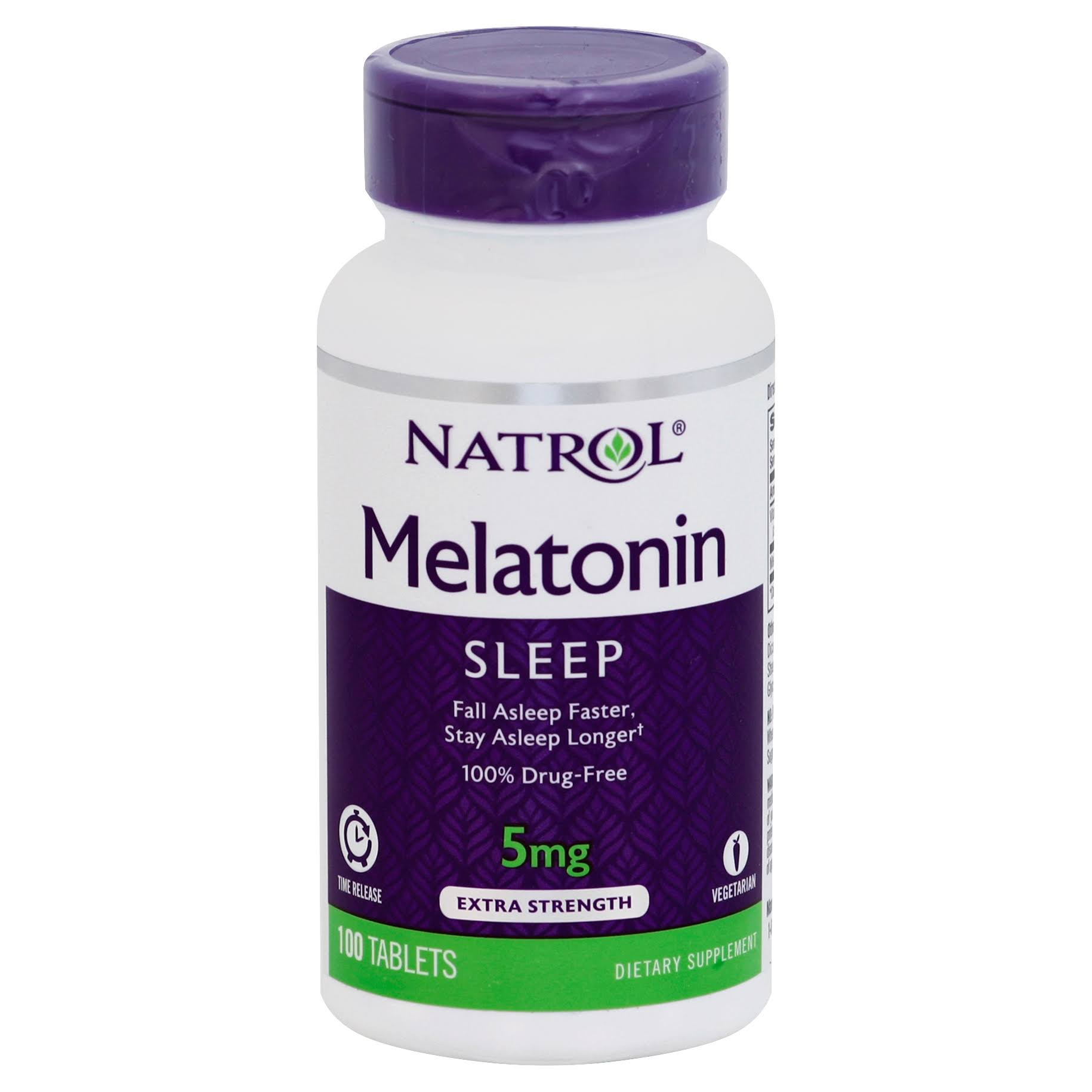 Natrol Melatonin 5mg Time Release - 100 Tablets