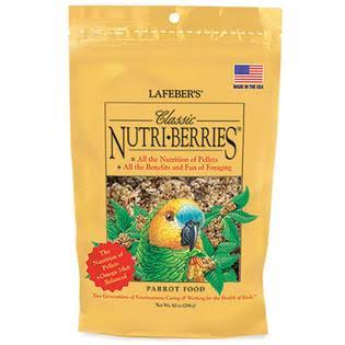Lafeber Classic Nutri-Berries - Parrot Food - 10 oz