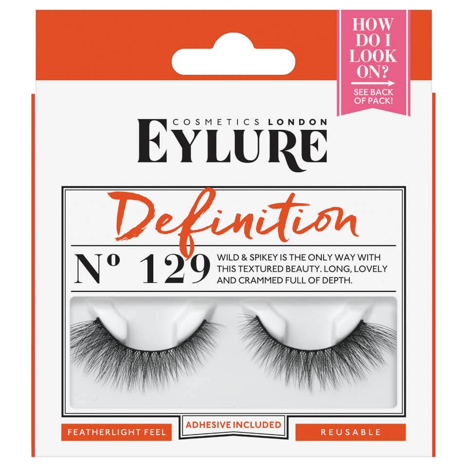 Eylure Definition Lashes - 129 Black