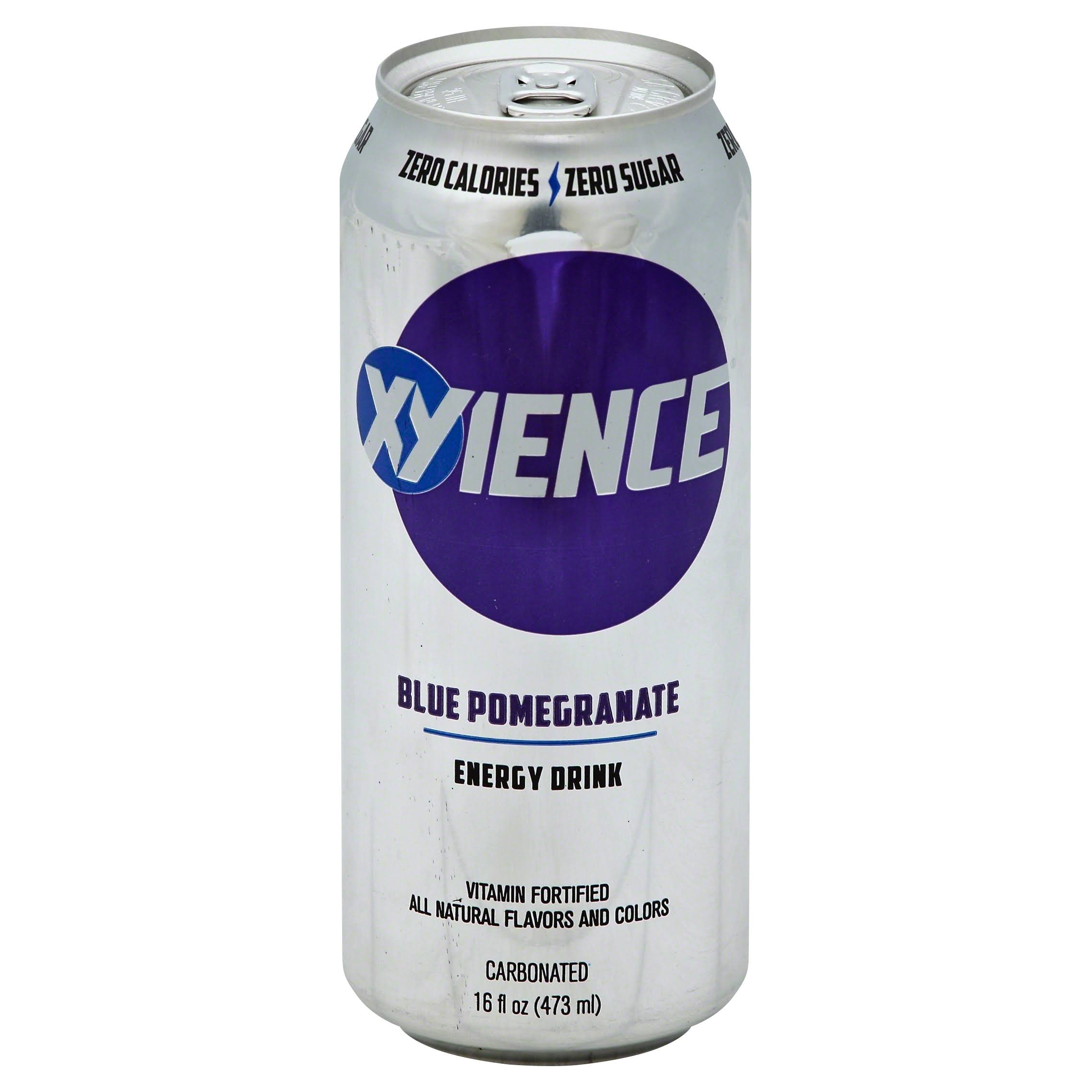 Xyience Xenergy Performance Energy Drink - Blu Pomegranate, 16oz
