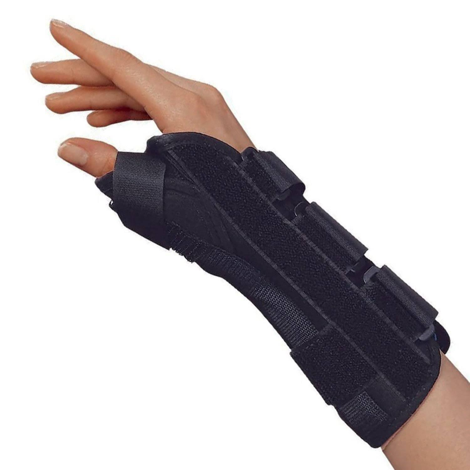 OTC 2087 Lightweight Breathable Wrist Thumb Splint - Right, Large