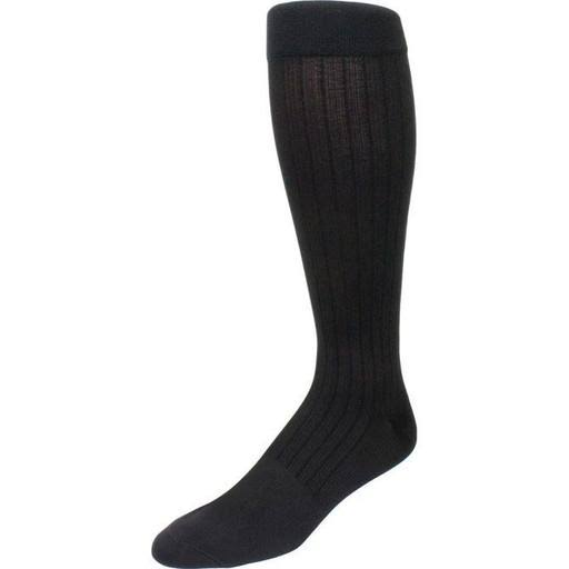 Sigvaris Business Casual Men's Closed Toe Socks - Black