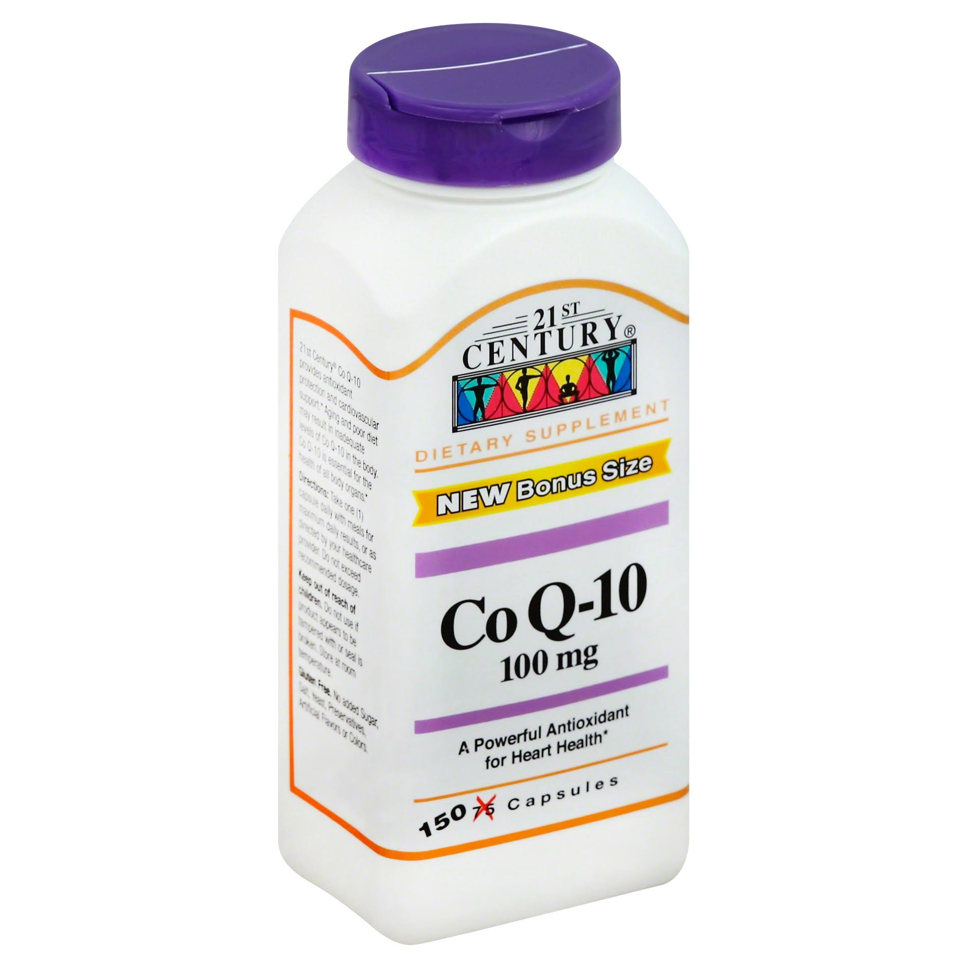21st Century Co Q-10 Supplement - 100mg, 150 Capsules
