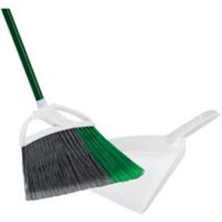 Libman Precision Angle Broom & Dustpan