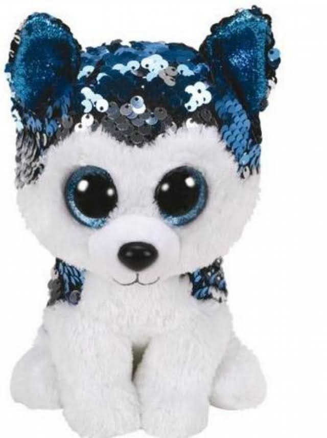 Ty Beanie Boos Flippable Stuffed Animal Soft Plush Toy - Huskie Slush