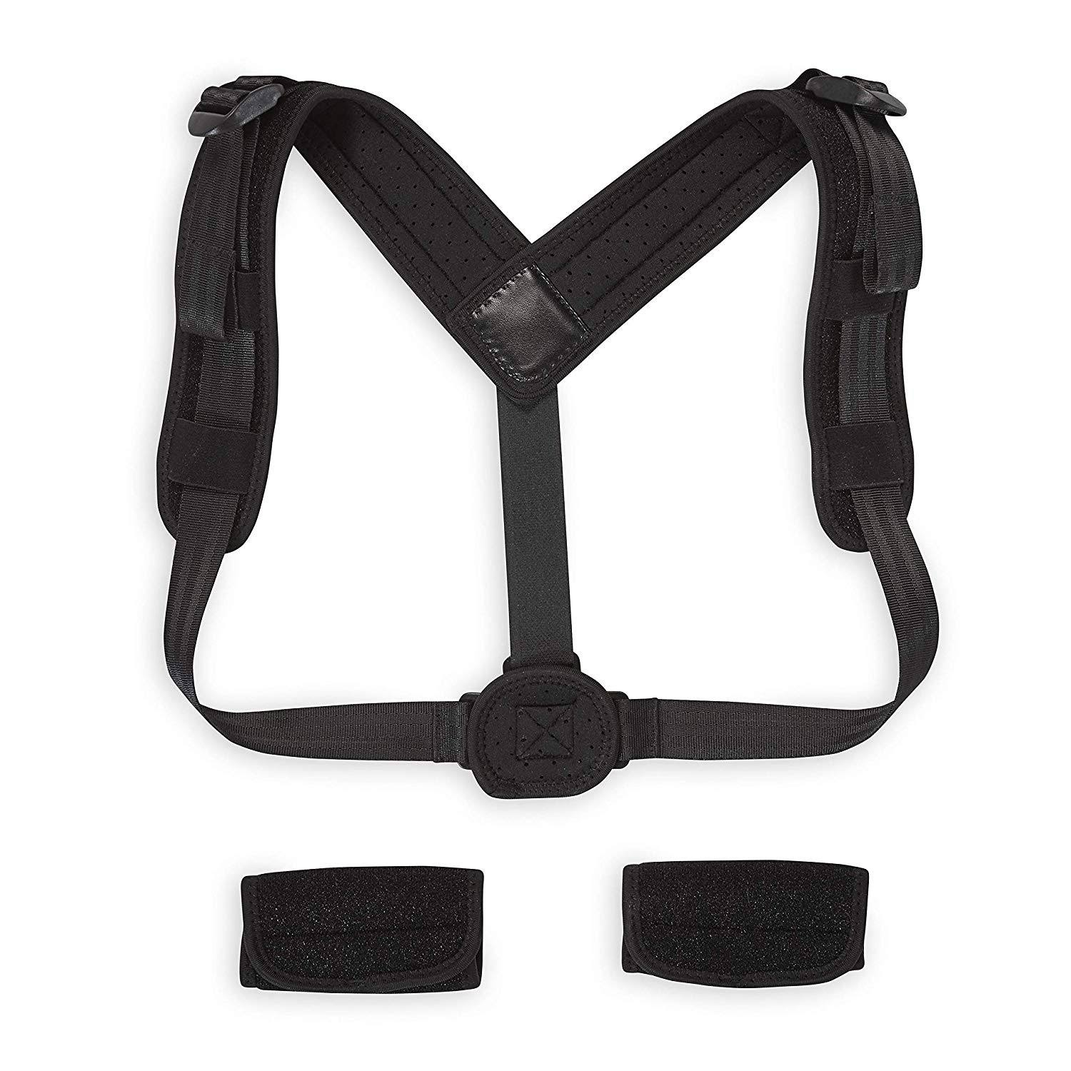 Gaiam Restore Posture Corrector - One Size Fits Most, Black