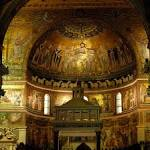 Risultati immagini per santa maria in trastevere