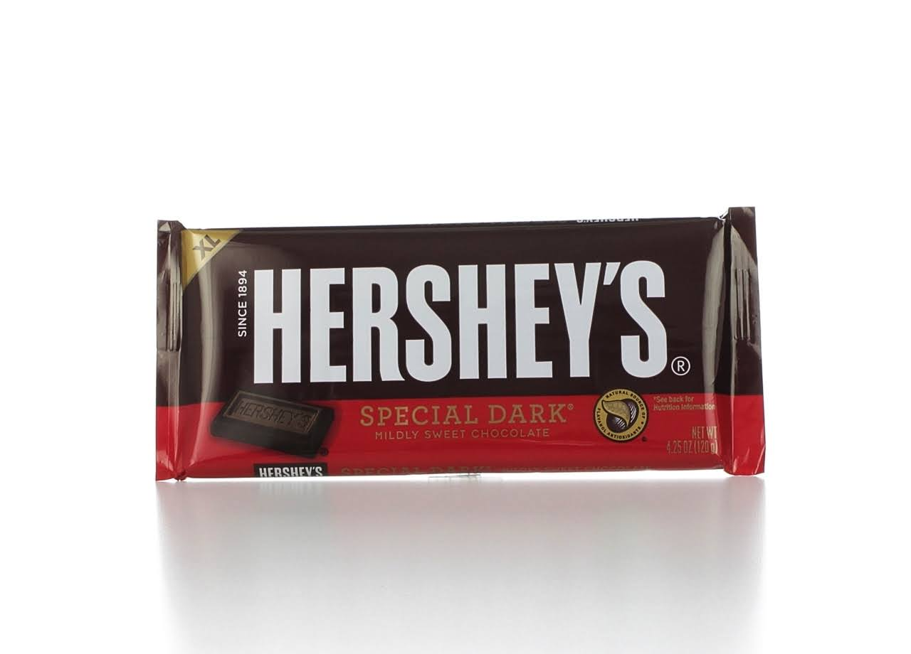 Hershey's Extra Large Special Dark Mildly Sweet Chocolate - 4.25oz