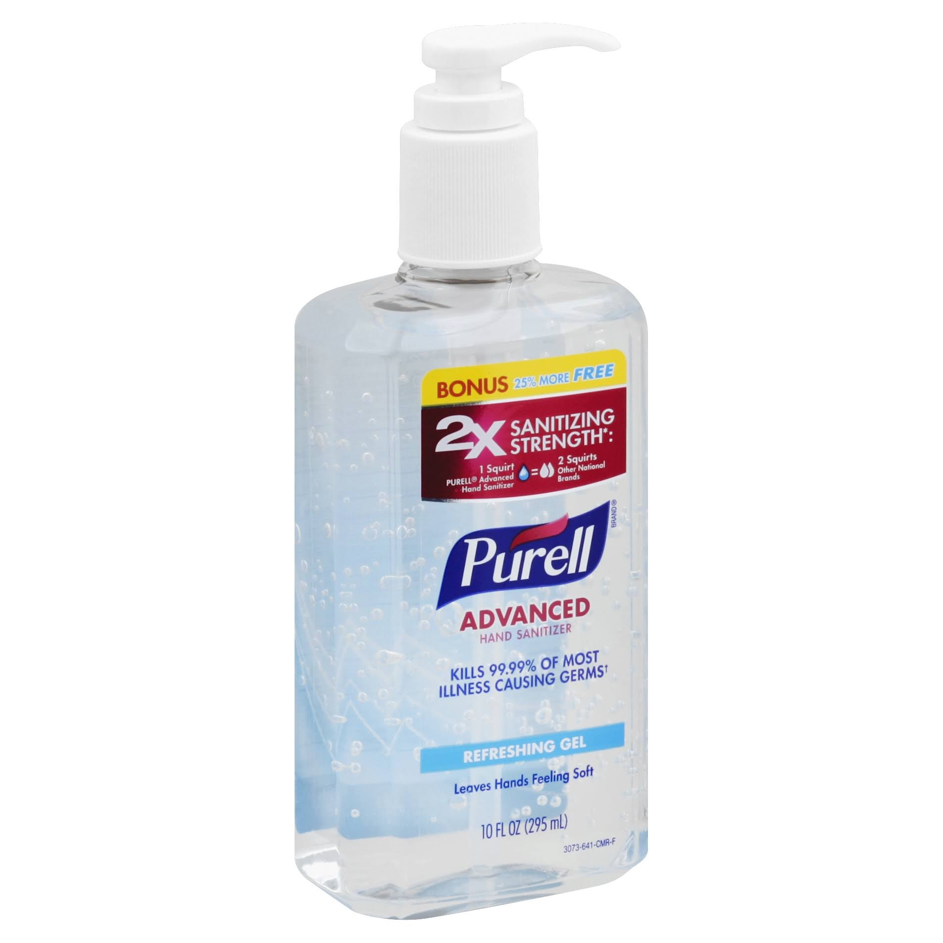 Purell Advanced Hand Sanitizer Refreshing Gel - 10oz