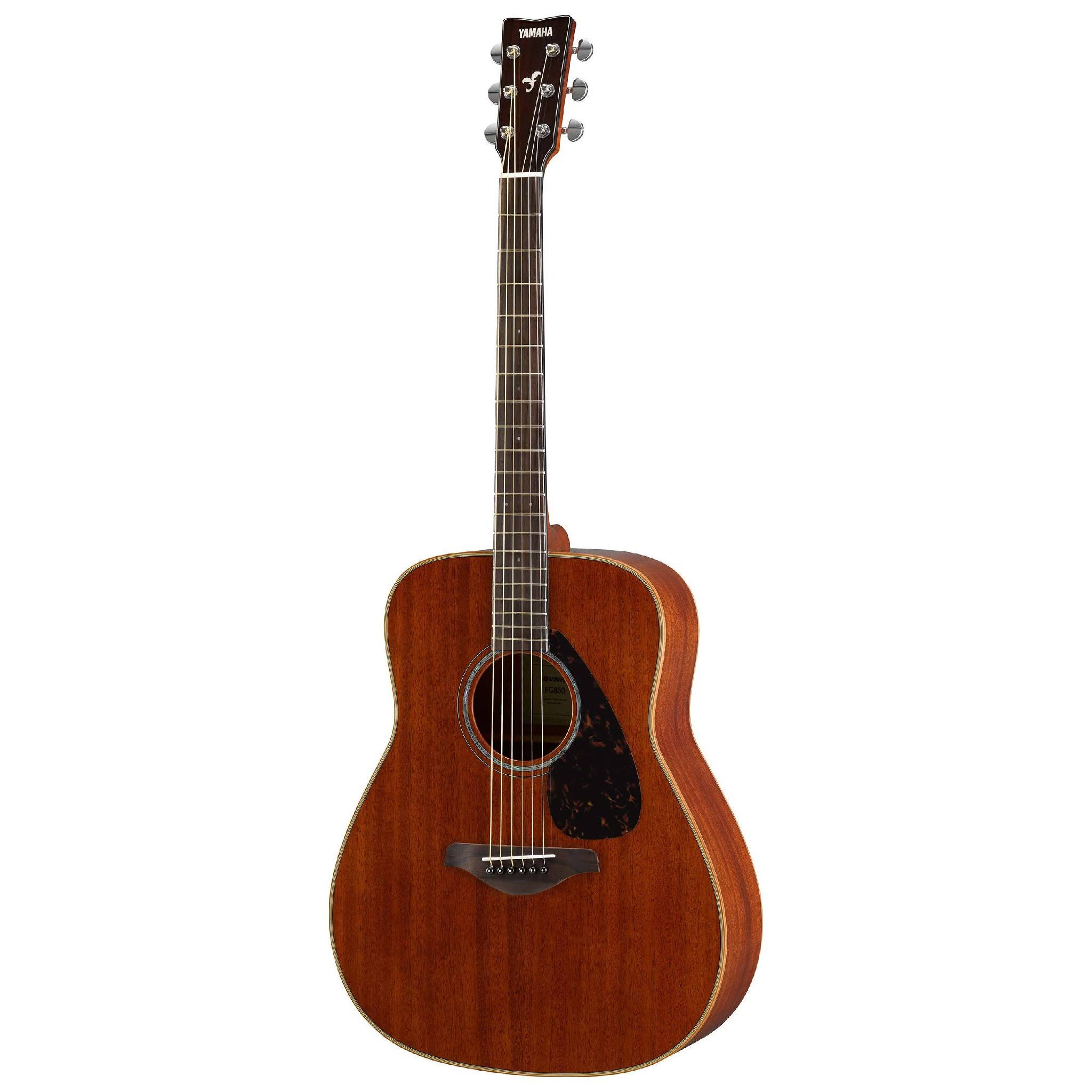 Yamaha FG850 Solid Top Acoustic Guitar - Mahogany