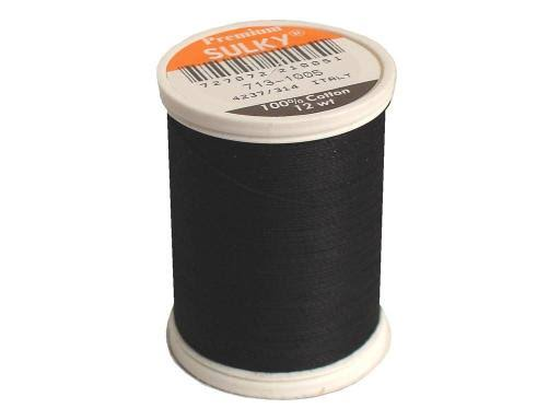 Sulky Cotton Thread - Black, 330yd