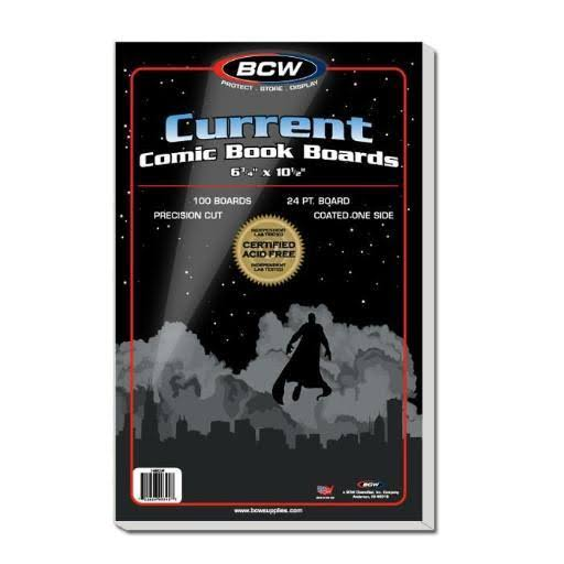 BCW Current Comic Book Boards