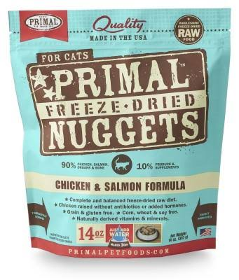 Primal Freeze-Dried Formula Cat Food - Chicken and Salmon