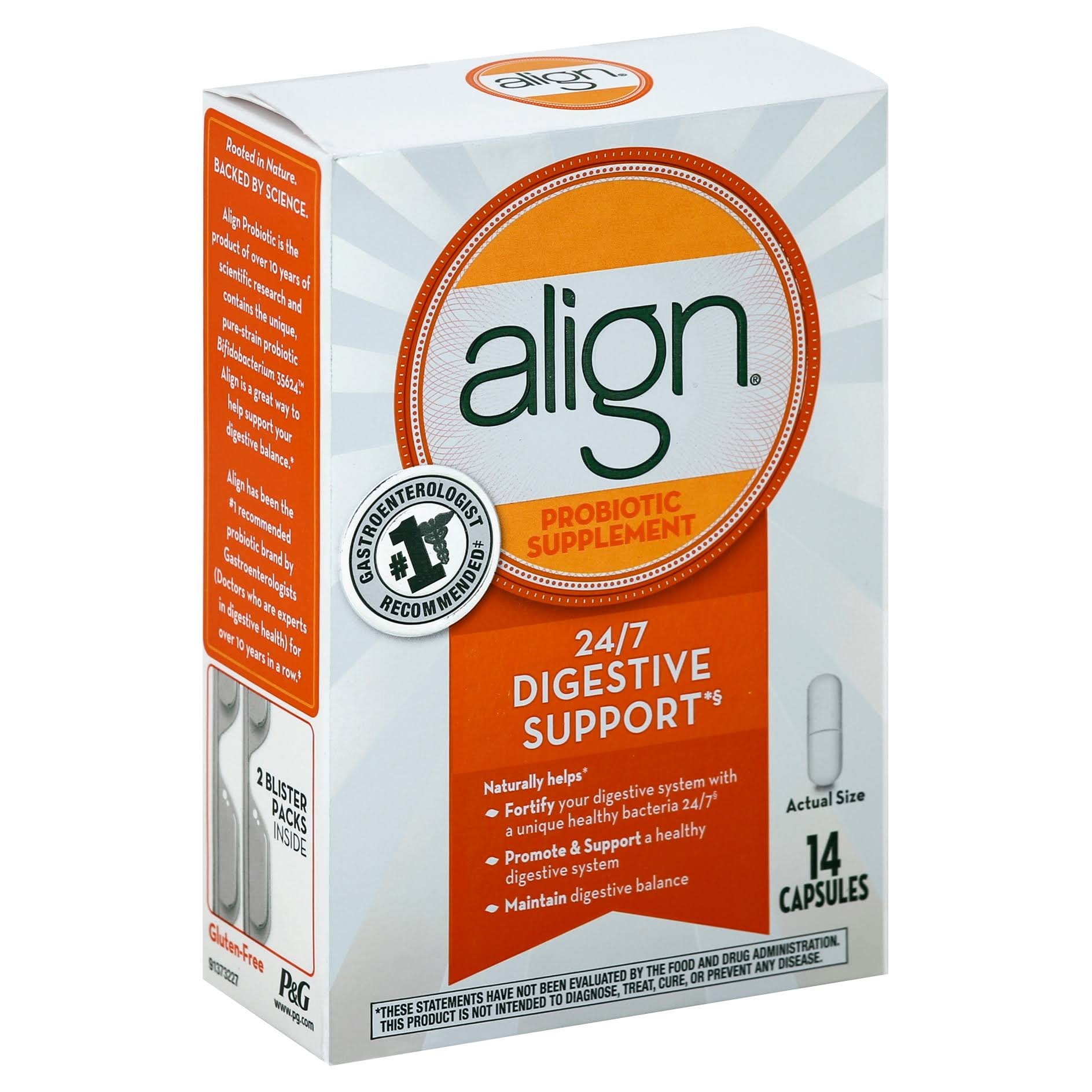 Align Probiotic Supplement - 14ct