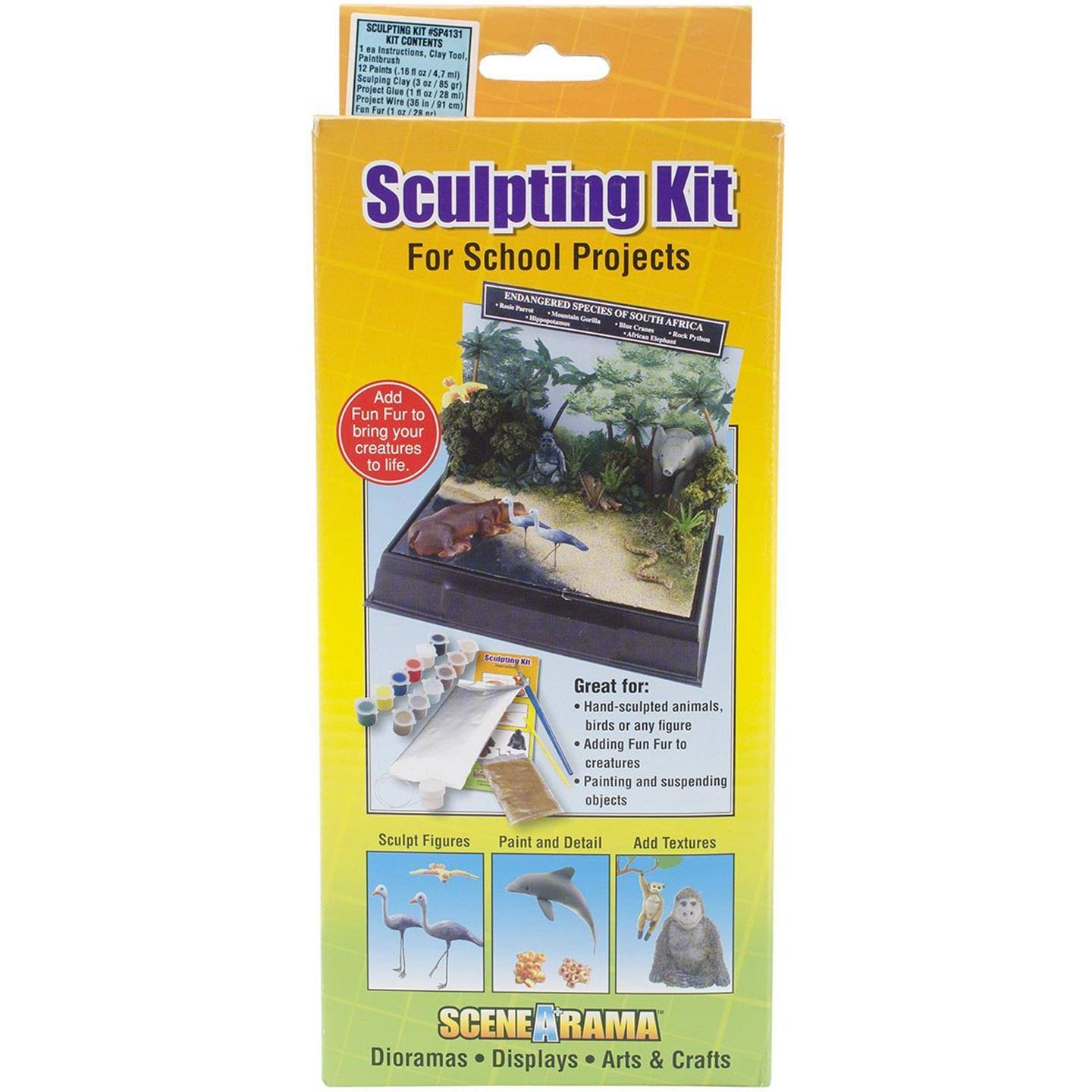Woodland Scenics Scene-A-Rama Sculpting Kit