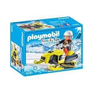 Playmobil 9285 Family Fun Snowmobile Playset