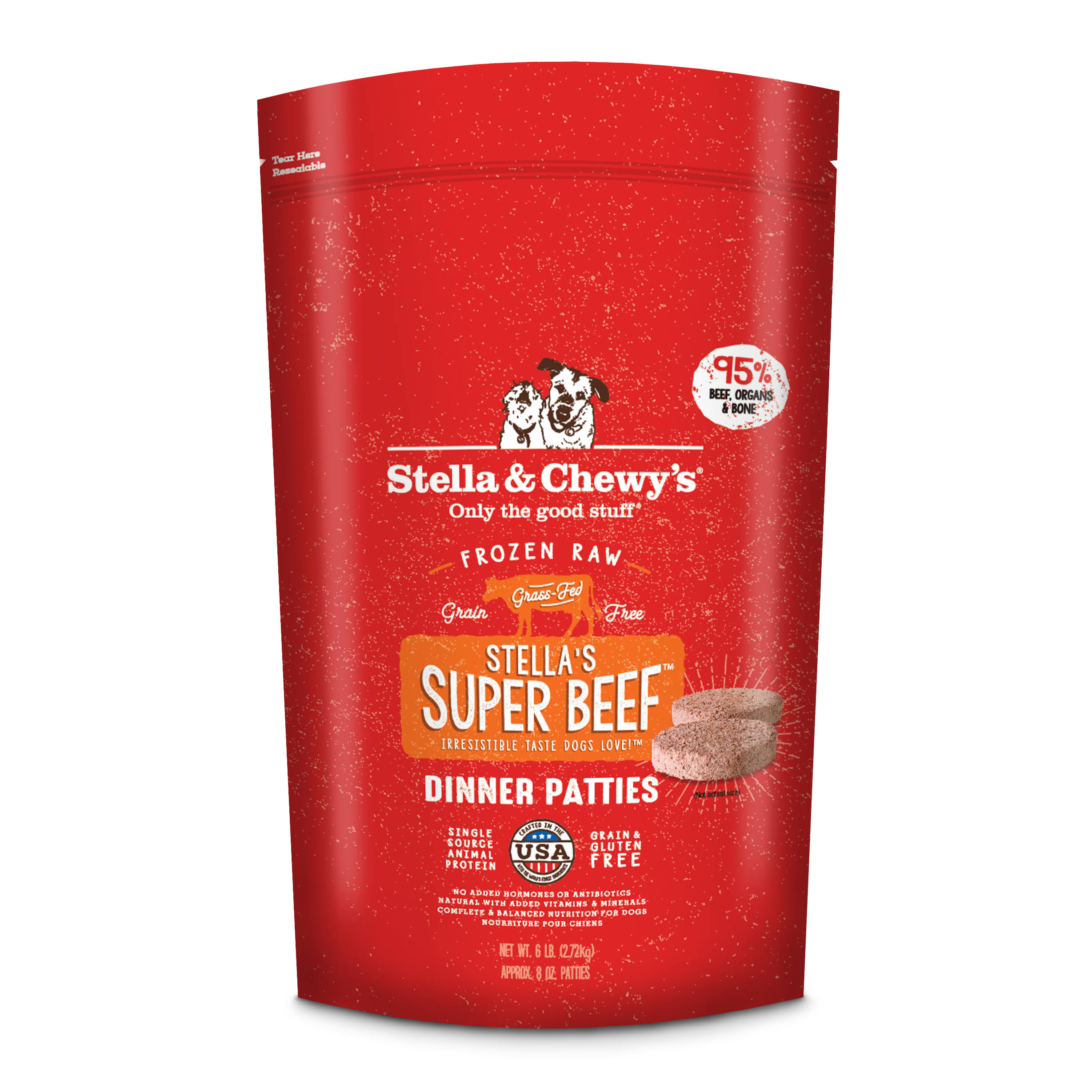 Stella and Chewy's Dog Food - Stella's Super Beef Dinner, 6lbs