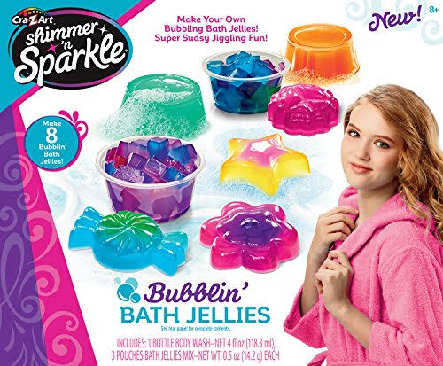 Shimmer N Sparkle Bubblin' Bath Jellies