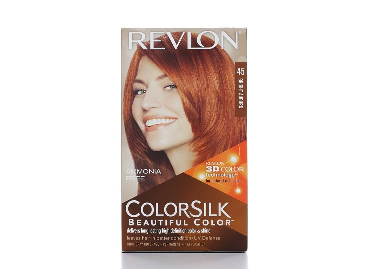 Revlon Colorsilk Permanent Hair Color - 45 Bright Auburn