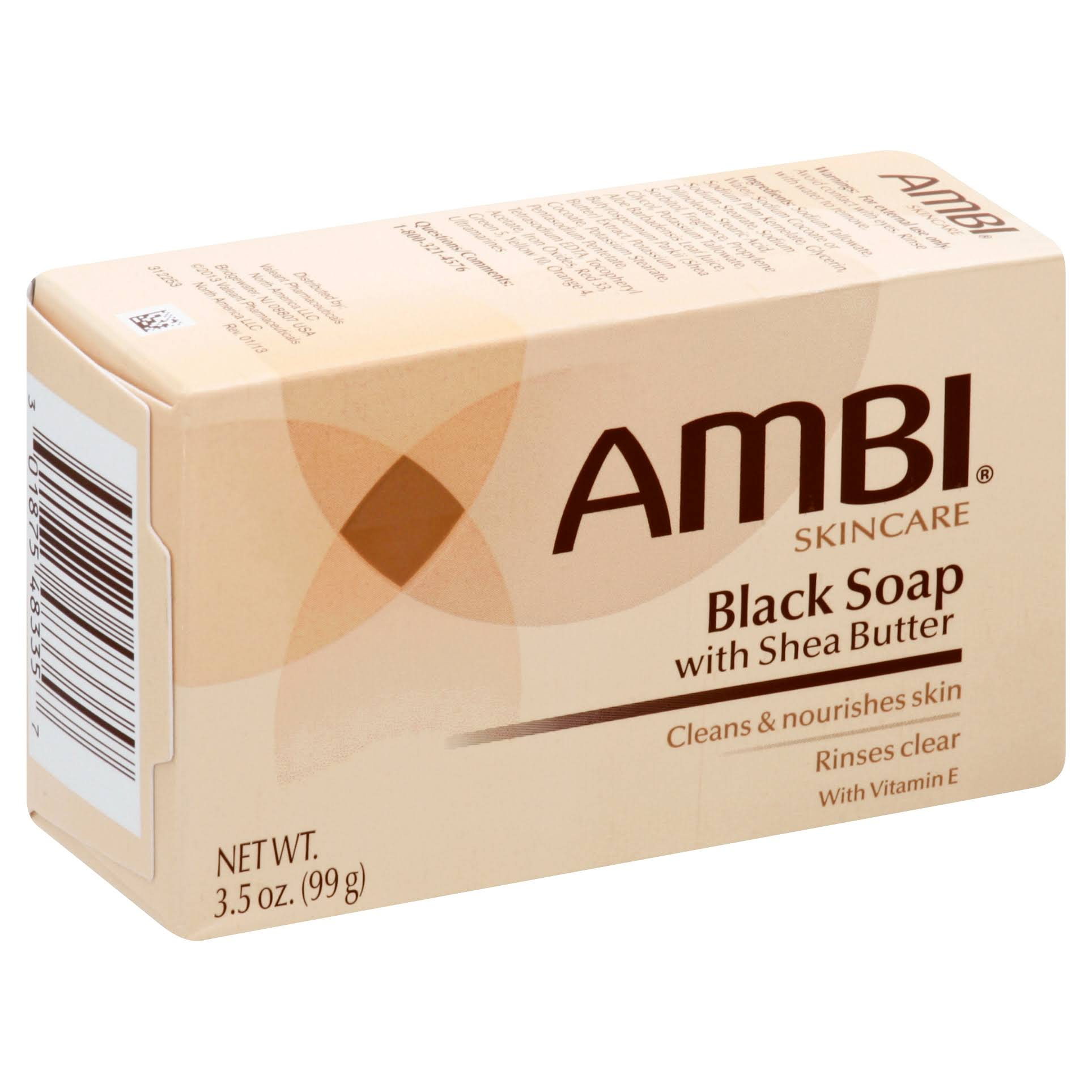 Ambi Skincare Black Soap with Shea Butter - 3.5oz