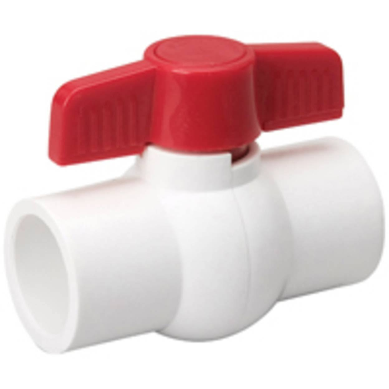 B and K Industries PVC Ball Valve - 1""