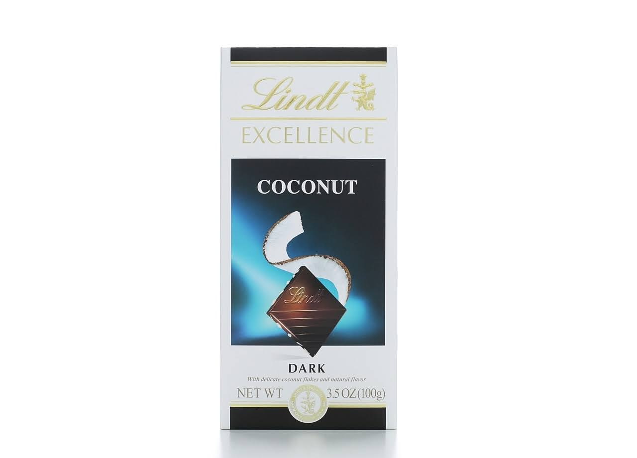 Lindt Excellence Chocolate Bar - Coconut Dark