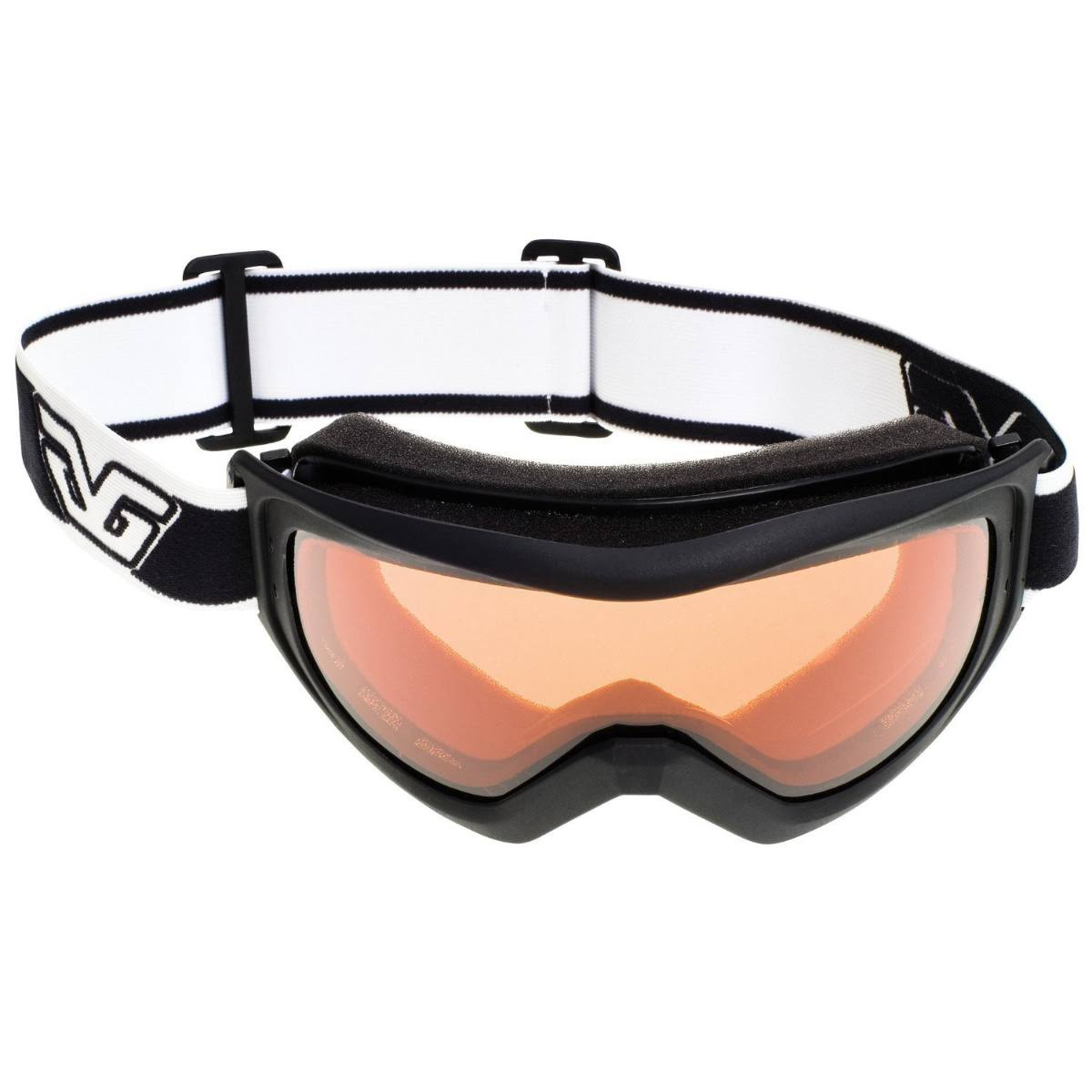 Gordini Crest Classic Series Goggles - Black and Gold