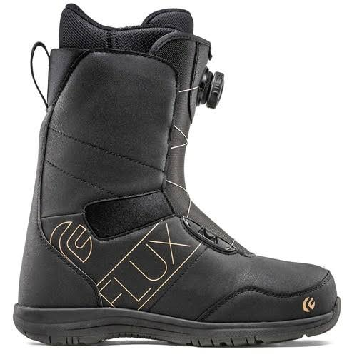 Flux PX Boa Boot in Black/Silver 2020