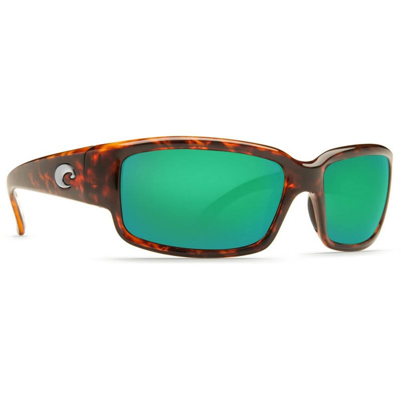 Costa Del Mar Caballito Green Mirror 580G Polarized Sunglasses