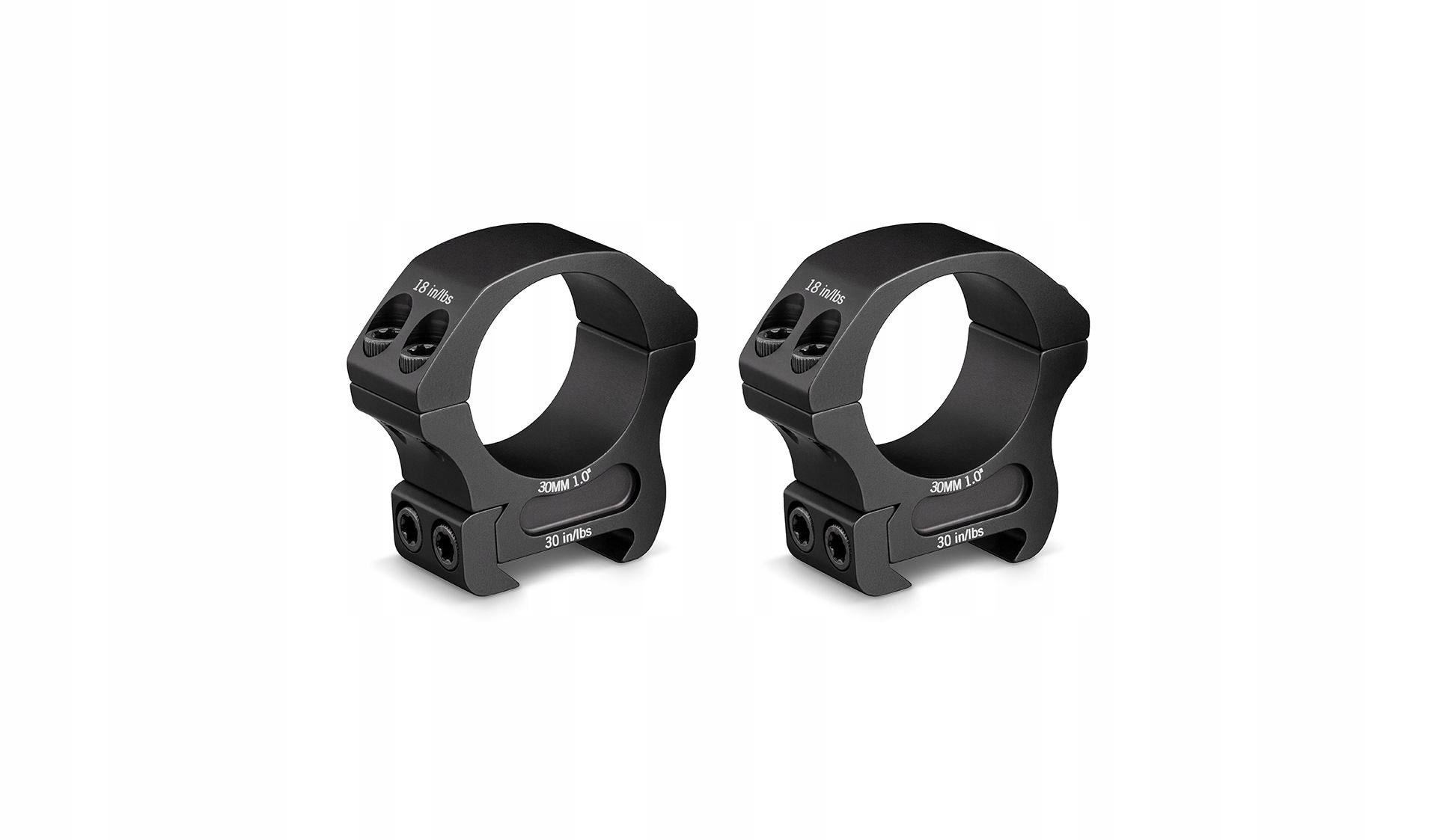 Vortex Optics PR30M Riflescope Rings - Black, 30mm