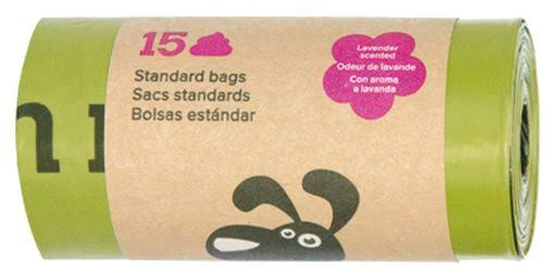 Earth Rated Poop Bags Lavender Scented Single 15 Roll