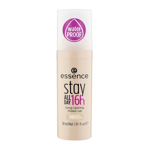 essence Stay All Day 16h Long Lasting Make Up - 08 Soft Vanilla, 30ml