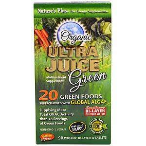 Natures Plus Ultra Juice Green Supplement - 90 Tablets
