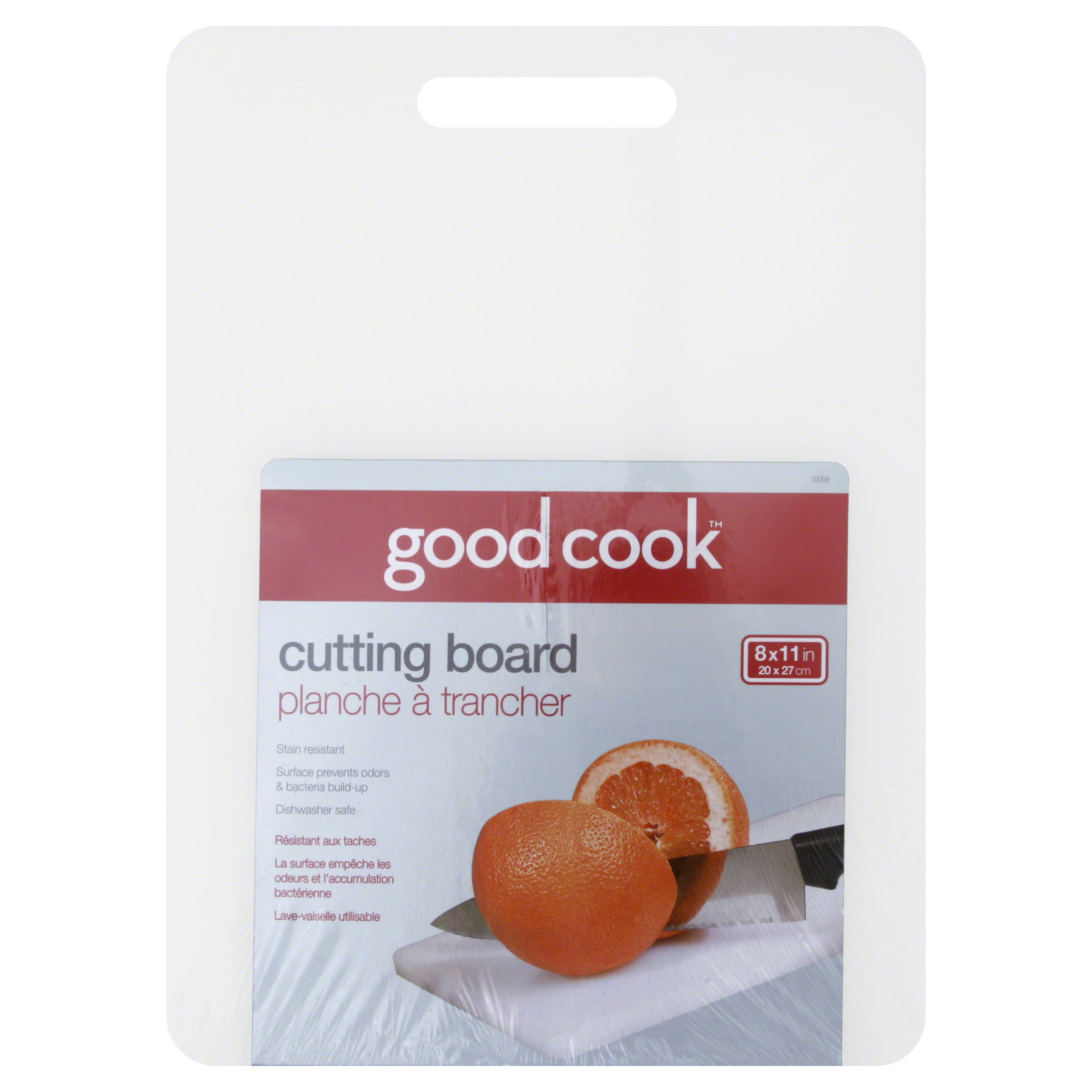 "Good Cook 8"" x 11"" Cutting Board"