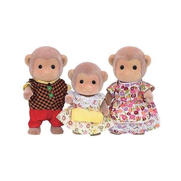 Calico Critters - Mango Monkey Family