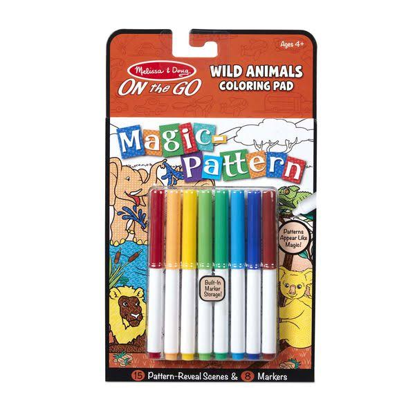 Melissa & Doug on The Go Magic Pattern Pad - Wild Animals