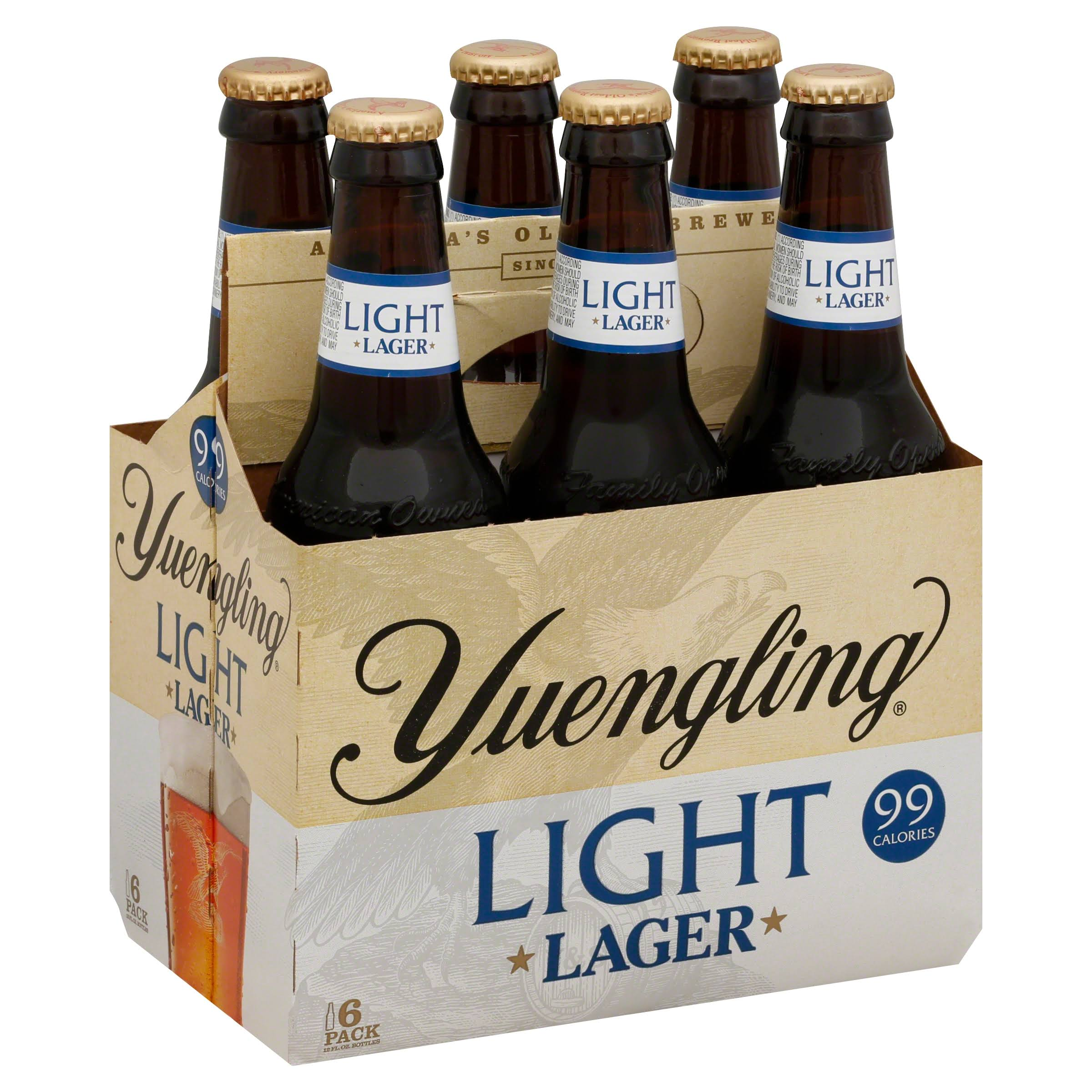 Yuengling Light Lager - 12oz