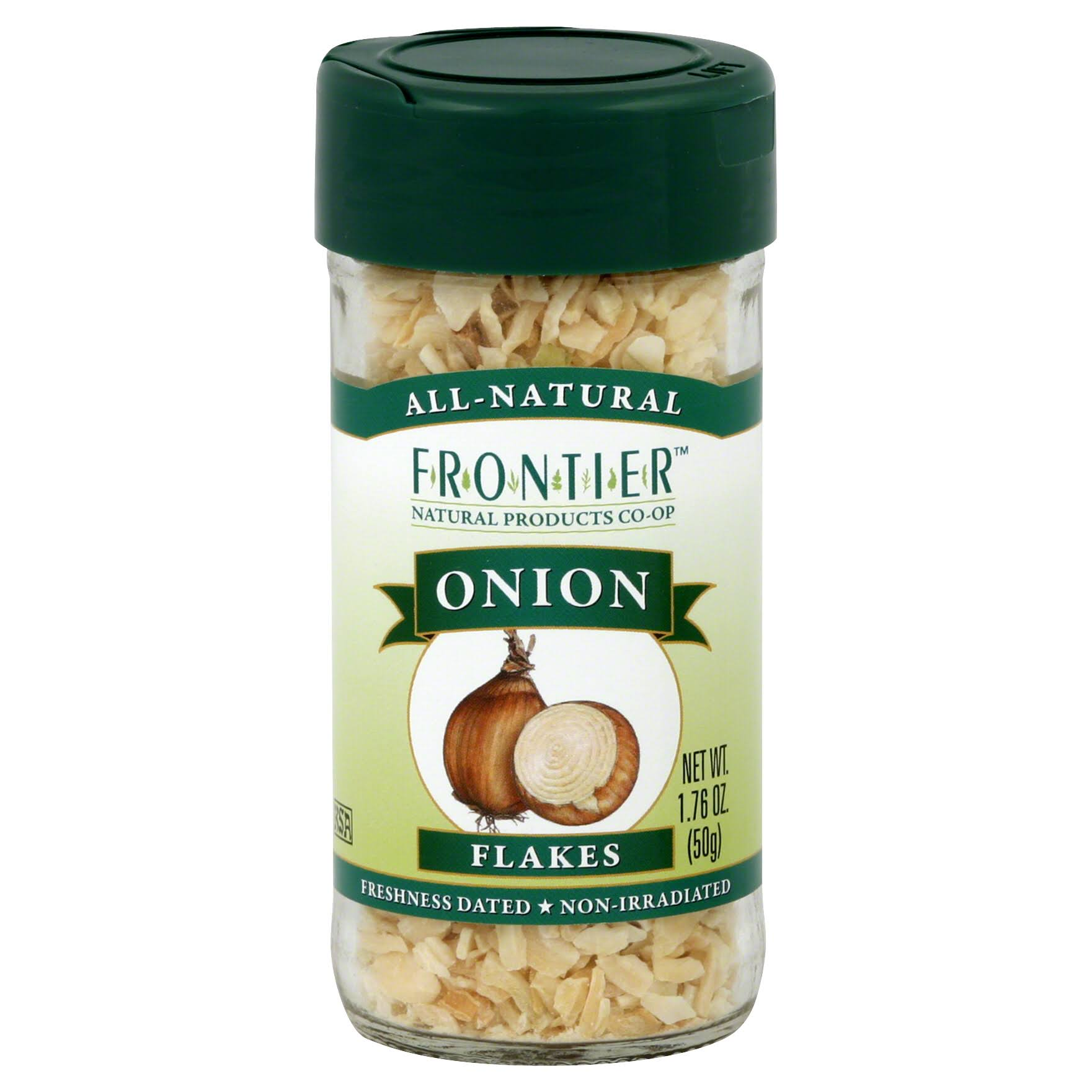 Frontier Natural Products Onion - White Flakes, 1.3oz