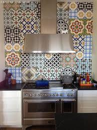 Moroccan Tile Curtain Panels by Kitchen Backsplash Cement Tile Shop Blog
