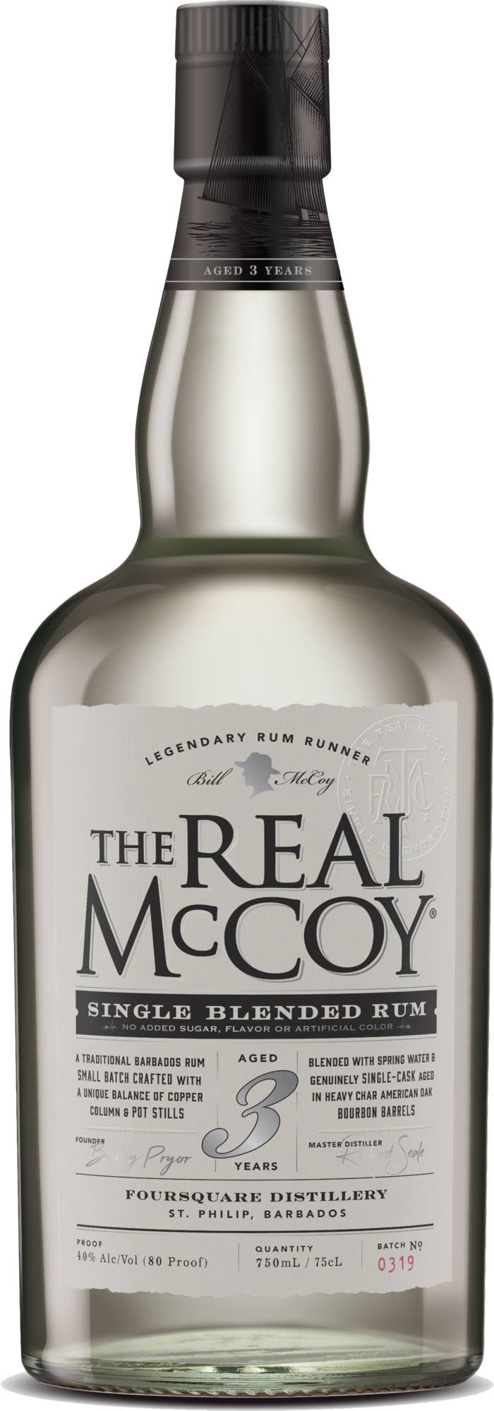 The Real McCoy 3 Year Rum